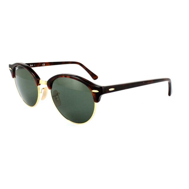 f77b7be154 Ray Ban RB 4246 Clubround UK RAYBAN Unisex Sunglasses 100 UV Round ...