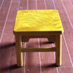 Small-Square-stool-Silkwood-Golden-Phoebe-Wood-Gold-thread-Nan-JinSiNan-1181