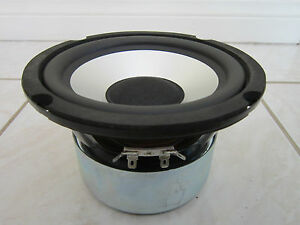 NEW-6-5-034-SubWoofer-Speaker-Audio-6-1-2-BASS-Shielded-8-ohm-Woofer-six-half-inch