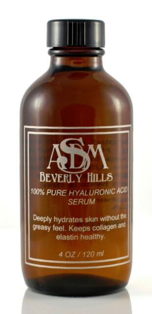 100% Pure Hyaluronic Acid Serum Collagen Booster large Refill ASDM Beverly Hills