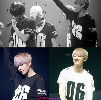 Bangtan Boys kpop BTS 2014 Tour Unisex tee t-shirt Kpop jungkook jimin v suga