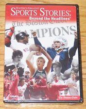 Boston's Greatest Sports Stories: Beyond the Headlines (DVD, 2004) The Globe NEW