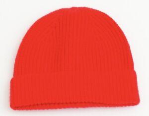 36e69a70c5e Gap Red Wool Blend Knit Cuff Beanie Skull Cap Men s One Size NWT ...