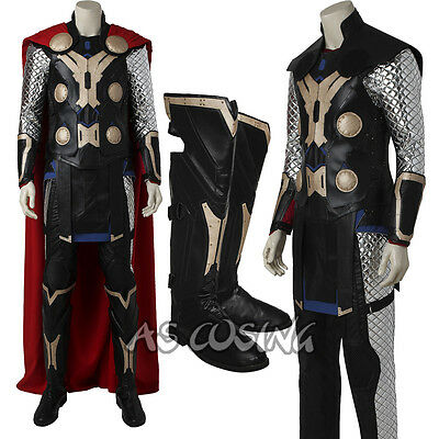 The Avengers Age of Ultron Thor Odinson Cosplay Costume Thor Costume All Size
