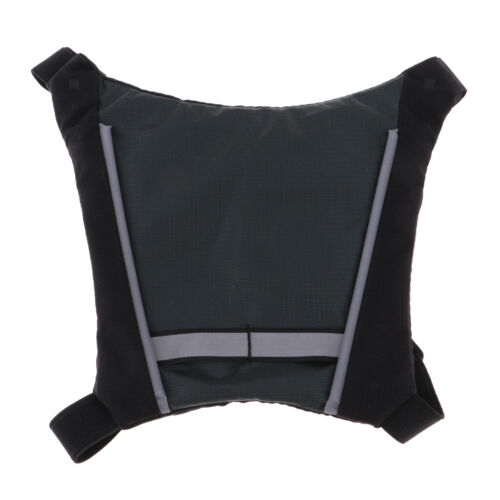Perfeclan Reflective Running Cycling Backpack Vest Turn Signal Light Vests