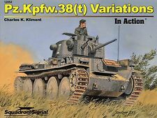 20307/ Squadron Signal - In Action 52 - Pz.Kpfw. 38 (t) Variations - TOPP HEFT
