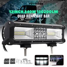 20inch 520W Led Work Light Bar Spot Flood Combo Offroad SUV TRUCK PK Quad