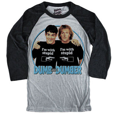 2019 Nuovo Stile Dumb And Dumber T-shirt Jim Carrey, Jeff Daniels 1994 Harry Lloyd Scemo E Piu