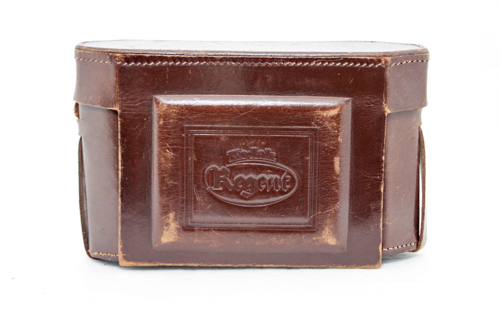 Kodak Regent Cuero Bolso Específico brown  Selten-Rare