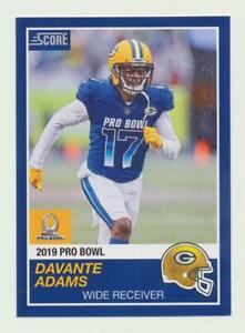 cc755fc6 2018 Instant NFL Pro Bowl 1989 Score Design #24 Davante Adams ...