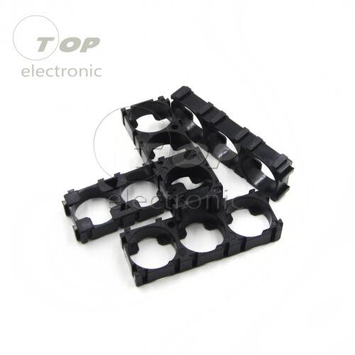 1 Set 4Pcs Black 18650 Battery Spacer Radiating Shell Plastic Heat Holder