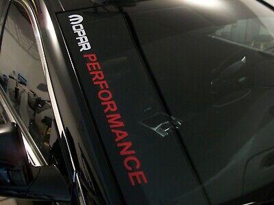 Mopar Performance Emblems for Challenger Charger 300C Trunk Lid Sticker Red