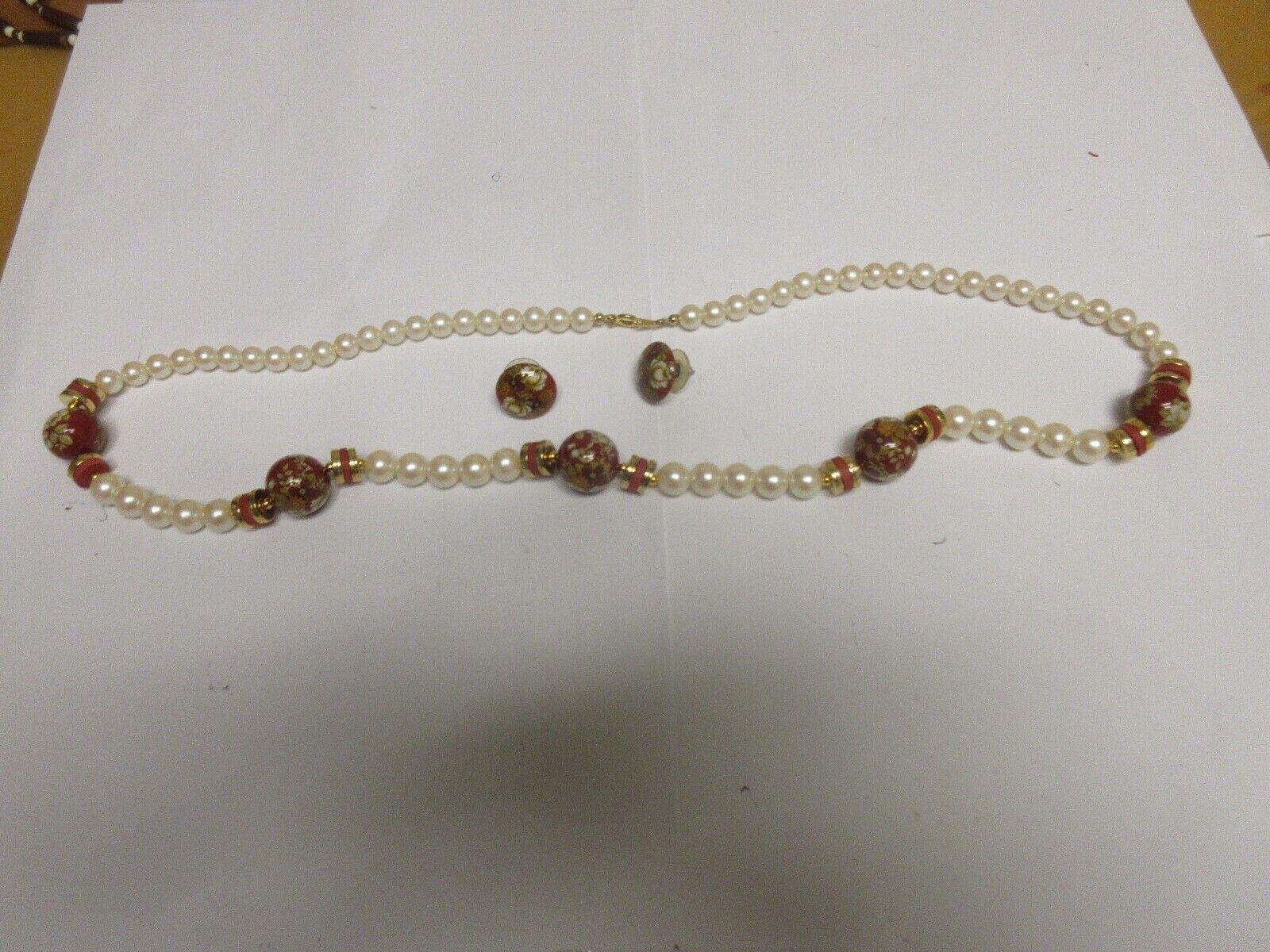 Costume Jewelry , Vintage , Pearl/Stone , Unique