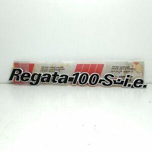 ADESIVO SIGLA MODELLO FIAT REGATA 100 S I.E. ORIGINALE 7582322
