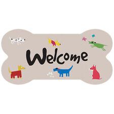 Dog Lovers Welcome Dog Bone Sign