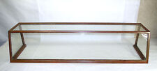 Antique General Store Copper Sheathed Wood Amp Glass Display Case Oblong 00401010