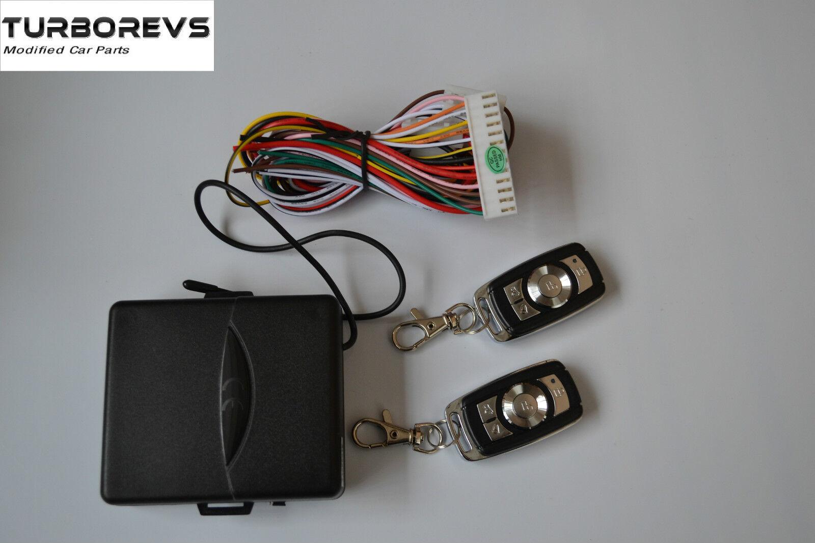 Remote Keyless Entry Central Locking Kit Honda Jazz Crv Civic Accord Interlock Wiring Diagram 97