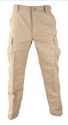 Luminosa Us Propper Army Pantaloni Bdu Pants Pantaloni Campo Outdoor Trousers Cachi Large Long-mostra Il Titolo Originale Acquista Sempre Bene