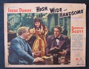 HIGH-WIDE-amp-HANDSOME-1937-lobby-card-Randolph-Scott-Irene-Dunne-Dorothy-Lamour