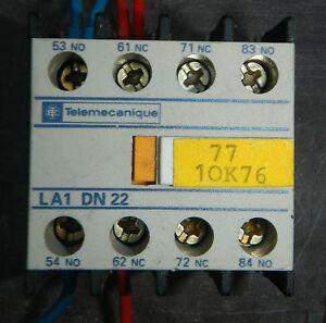 Schneider-Telemechanique-Type-LA1DN22-LA1-DN22-AUXILIARY-CONTACT-UNIT