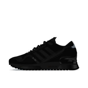 men's adidas originals zx 750 casual shoes black/black