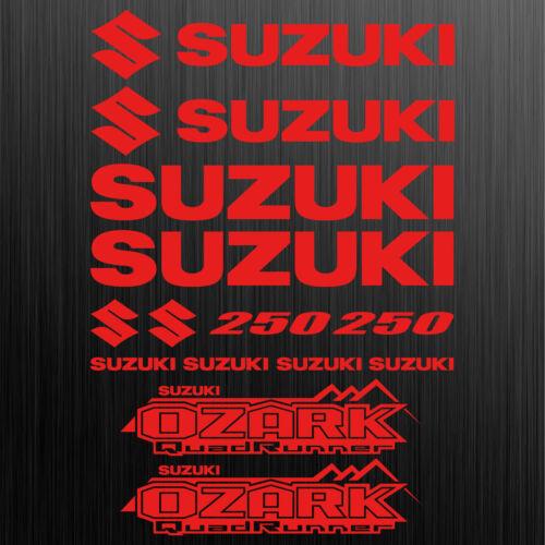 Für SUZUKI OZARK 250 aufkleber sticker quad ATV 14 Stücke Pieces