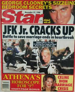 Star-Magazine-Dec-31-1996-JFK-Jr-Cracks-Up-George-Clooney-Celine-Dion