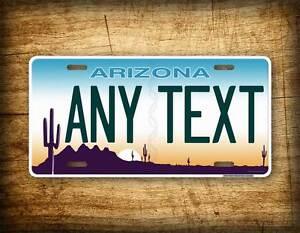 Arizona Personalized Plates >> Details About Arizona Personalized License Plate Any Text Custom Customized Auto Tag Az State