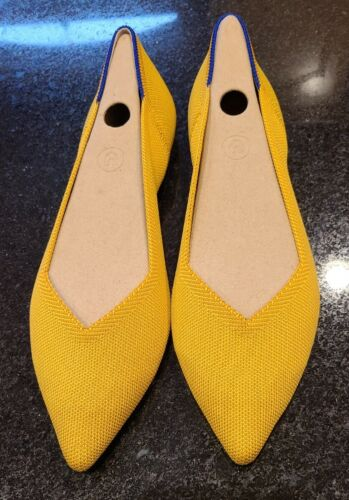 Rothy's Point Marigold Size 10.5