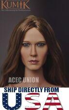 KUMIK 1/6 Jennifer Aniston Head Sculpt For Hot Toys Phicen Body - U.S.A. SELLER
