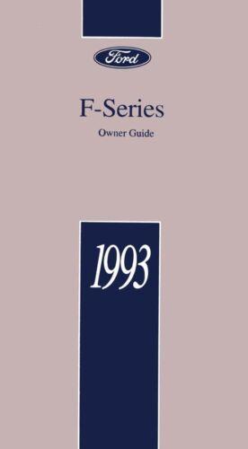 ispacegoa.com Automotive Manuals & Literature 1993 Ford Truck ...