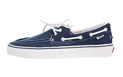 Vans Zapato Del Barco Bleu Marine Chaussures De Skate | eBay