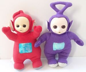 Vintage-Teletubbies-Talking-Singing-Bell-Po-Lala-Tinky-Winky-Blinking-Eyes