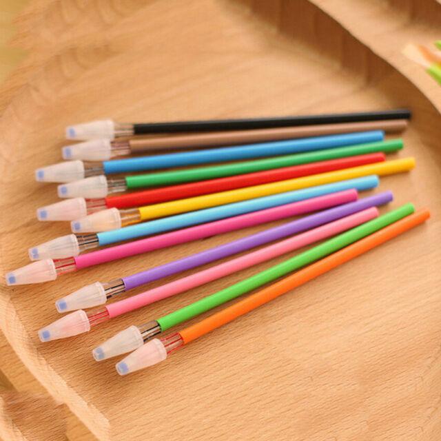 12pcs New Cute diamond Colorful Gel Pen Set Korean Stationery School Supplies JG