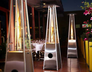 Delicieux Image Is Loading AZ Patio Heaters Glass Tube Patio Heater Stainless