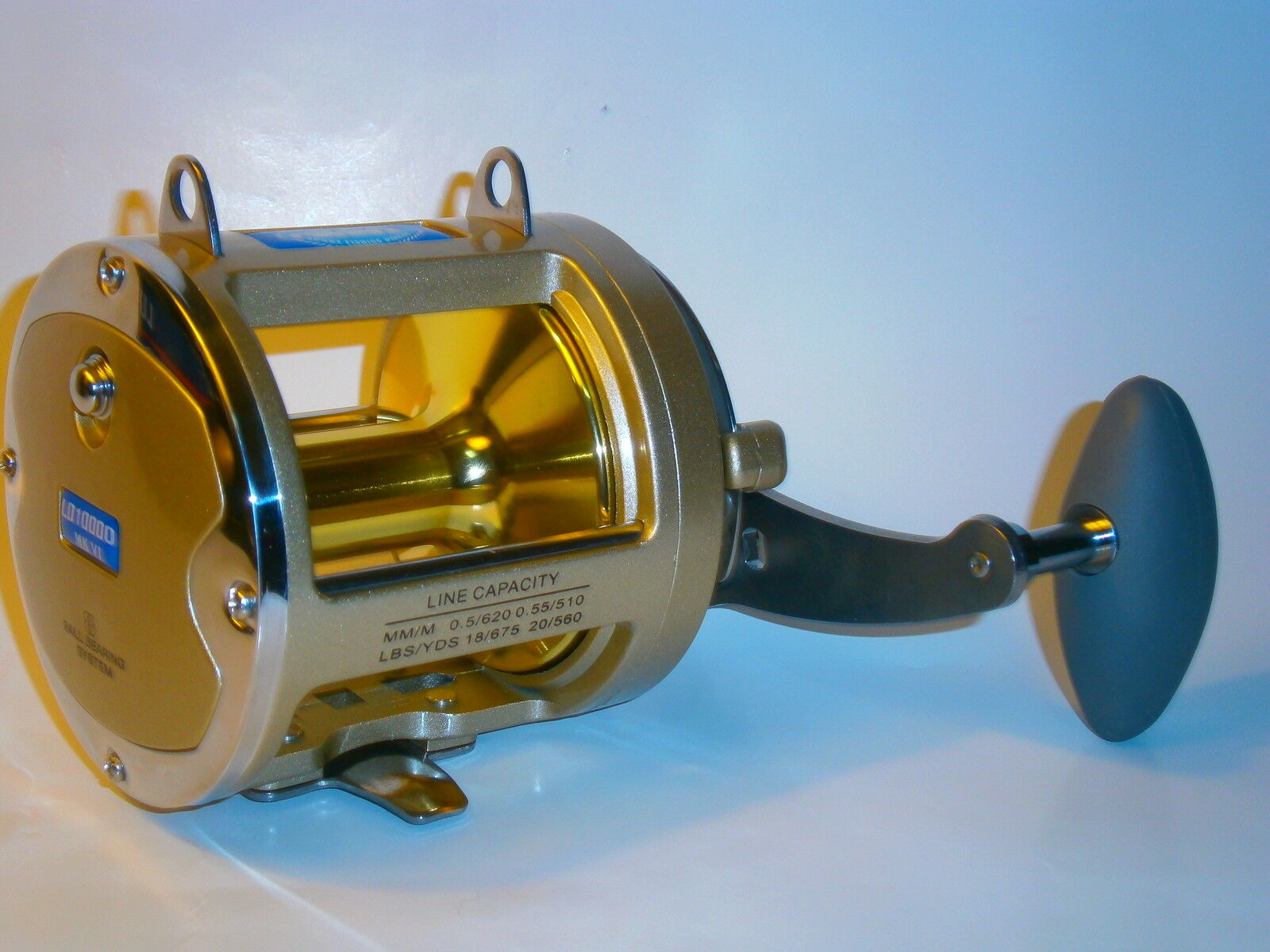 (SPECIAL LIMITED TIME ONLY) LD10000 (VI) BIG GAME REEL - Model up from LD9000