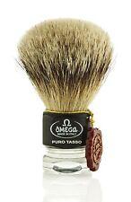 Omega 615 1st Grade Super Badger Hair Shaving Brush