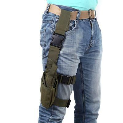"""tactical Army Swat Right Handed Drop Leg Thigh Pistol Hand Gun Holster """