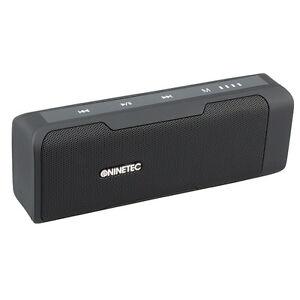NINETEC-POWERBEAT-Bluetooth-Speaker-mit-integrierter-PowerBank-und-Radio-Black