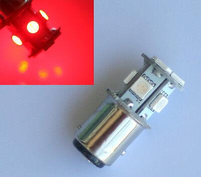 2x BAY15D 1157 P21/5W SMD 8 LED Auto Rot Lampe Licht Birne Bremslicht Rücklicht