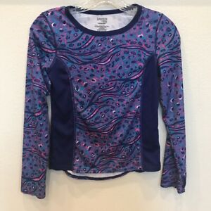 DANSKIN-NOW-DRIMORE-Girl-039-s-Long-Sleeve-Athletic-TOP-Tee-Size-Large-10-12-VGUC