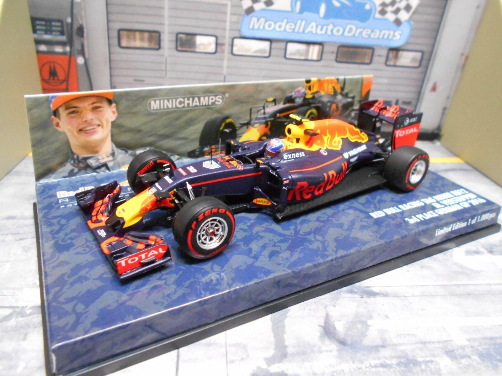 F1 rouge Bull rb12 RENAULT Heuer  33 Verstappen Allemagne 2016 MINICHAMPS 1 43