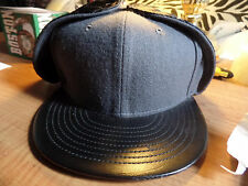 New Era Quilted Ear Flap 59FIFTY Fitted Est. 1920 Hat Cap Flat Bill Brim Dog Lid