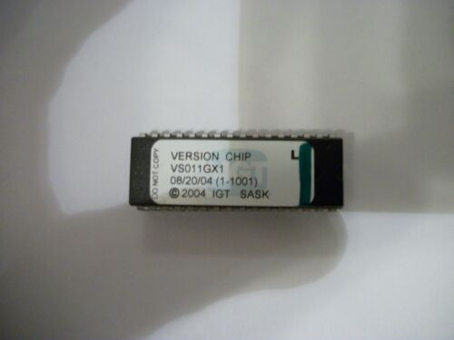 IGT S2000 VERSION CHIP VS011GX1