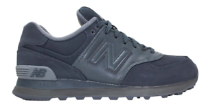 New Balance 574 Men's Charcoal Black Athletic Sneakers 1274 Size 8.5 D