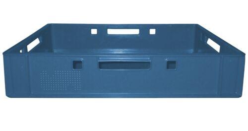 8 St GastlandoBox Lagerkiste Sammelkiste Stapelbox  E1 60x40 Blau Gastlando