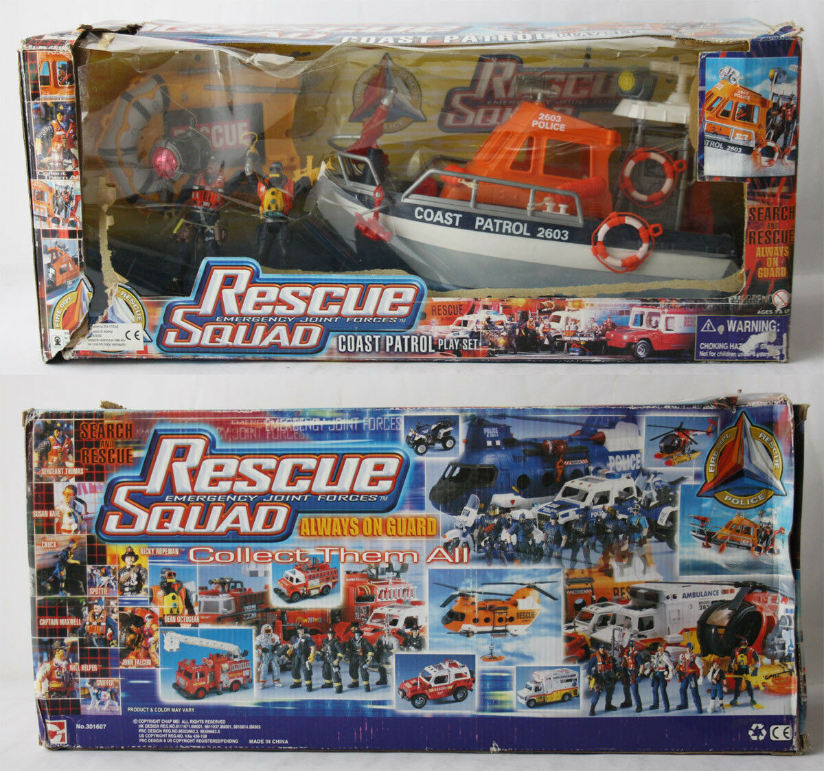 VERY RARE CHAP MEI RESCUE SQUAD COAST PATROL PLAYSET NAVY SEALS G I JOE NEW MIB