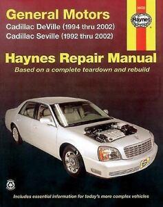 Haynes-Repair-Manual-38032-General-Motors-Cadillac-Deville-1994-Thru-2002