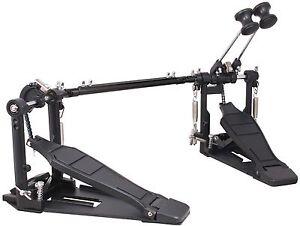 drum pedal double bass dual foot kick pedal percussion set single chain drive ebay. Black Bedroom Furniture Sets. Home Design Ideas