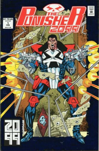 The Punisher 2099 Mourning After Stan Lee Vol 1 #1 Marvel Comics April 1993 NM